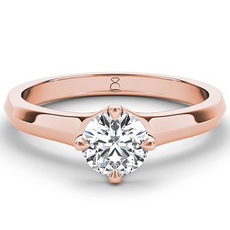 The Diamond Story 18ct rose gold 1.50ct diamond solitaire - Product number 4091442
