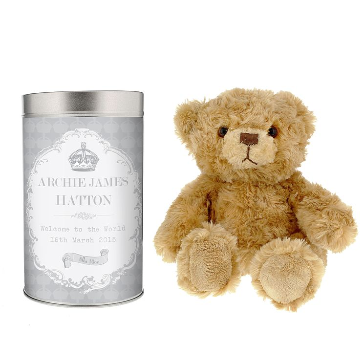 Royal Crown Teddy in a Tin - Product number 4095170