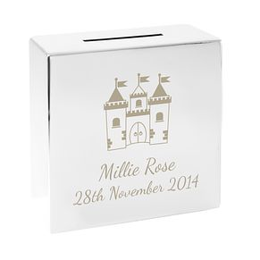 Castle Square Money Box - Product number 4095219