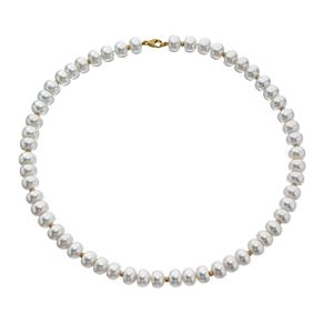 "9ct Yellow Gold Cultured Freshwater Pearl 18"" Necklace - Product number 4095308"