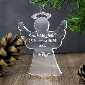 Acrylic Angel Decoration - Product number 4095812