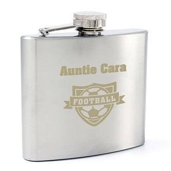 Football Hip Flask - Product number 4098536