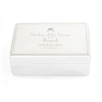 Decorative Wedding Mother of the Groom Jewellery Box - Product number 4098773