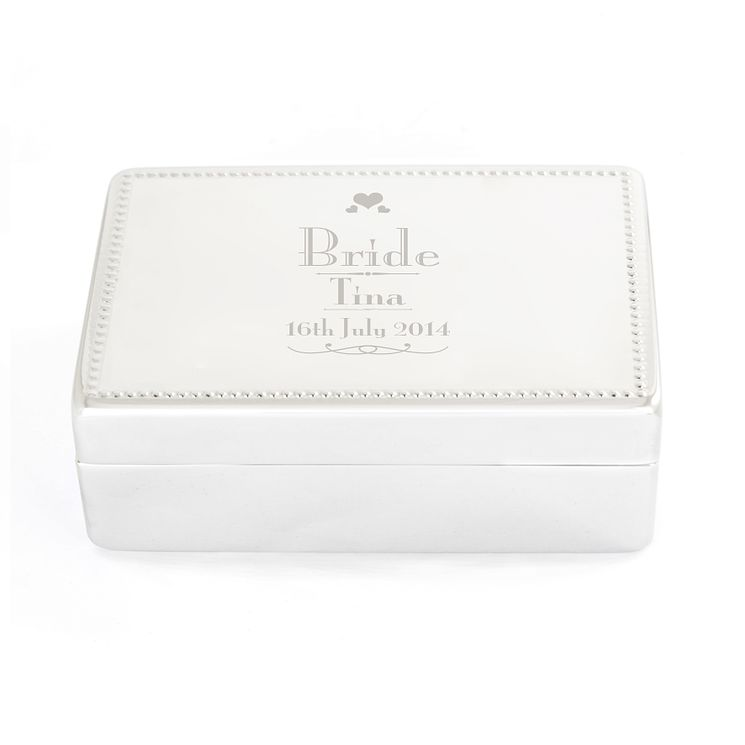 Decorative Wedding Bride Jewellery Box - Product number 4098803