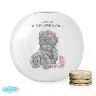 Personalised Me To You Wedding Female Money Box - Product number 4099044