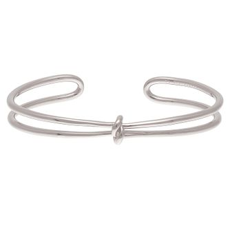 Olivia Burton Stainless Steel Knot Bangle - Product number 4102274