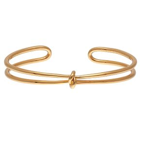 Olivia Burton Yellow Gold Metal Plated Knot Bangle - Product number 4102282