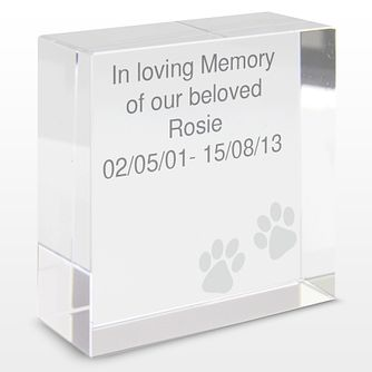 Paws Medium Crystal Token - Product number 4102436