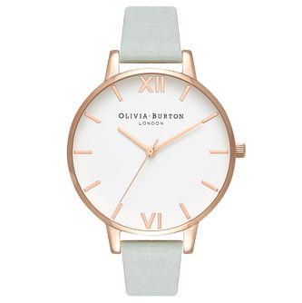 Olivia Burton Ladies' Rose Gold Metal Plated Strap Watch - Product number 4104528