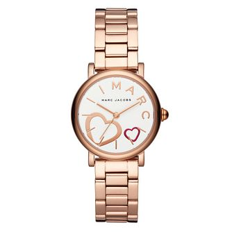 Marc Jacobs Classic Ladies' Rose Gold Tone Bracelet Watch - Product number 4116240