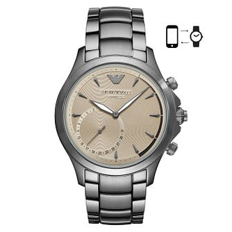 Emporio Armani Connected Men's Ion Plated Hybrid Smartwatch - Product number 4116410