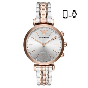 Emporio Armani Connected Ladies' Stone Set Hybrid Smartwatch - Product number 4116534