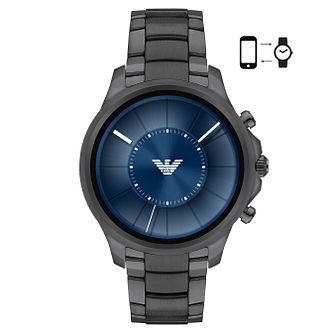 Emporio Armani Connected Men's Ion Plated Display Smartwatch - Product number 4116593