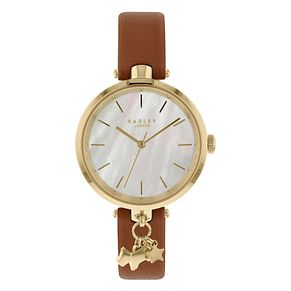 Radley St Dunstan Ladies' Tan Leather Strap Watch - Product number 4120868