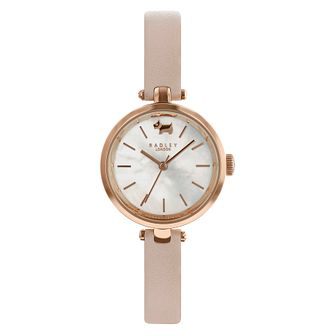 Radley St Dunstan Ladies' Pink Leather Strap Watch - Product number 4120884