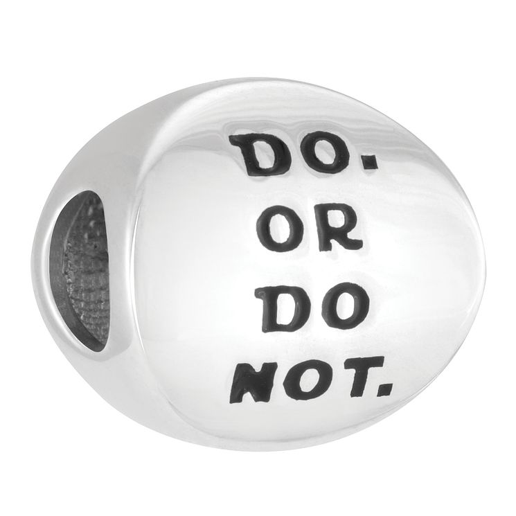 Chamilia Star Wars Do Or Do Not Charm Bead - Product number 4122283