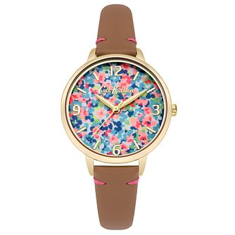 Cath Kidston Ladies' Tan Leather Strap Watch - Product number 4166051