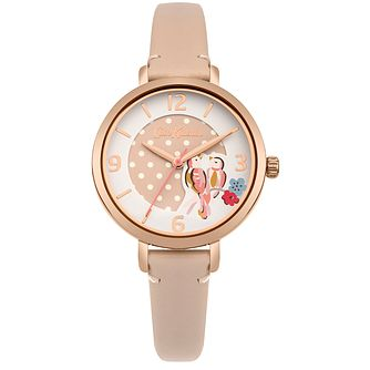 Cath Kidston Ladies' Nude Leather Strap Watch - Product number 4166078