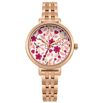 Cath Kidston Ladies' Rose Gold Bracelet Watch - Product number 4166124