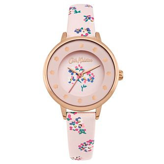 Cath Kidston Ladies' Dusty Pink Strap Watch - Product number 4166159