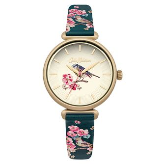Cath Kidston Ladies' Teal Strap Watch - Product number 4166175