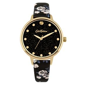 Cath Kidston Ladies' Black Strap Watch - Product number 4166469