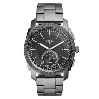 Fossil Q Machine Men's Ion Plated Hybrid Smartwatch - Product number 4166809