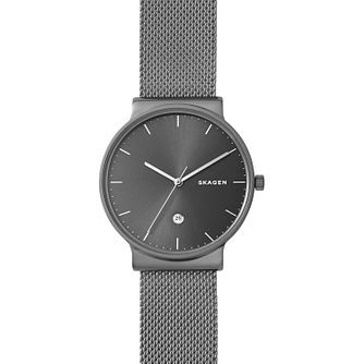 Skagen Ancher Men's Ion Plated Bracelet Watch - Product number 4168062