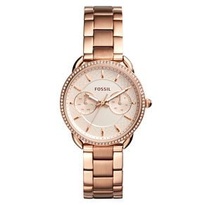 Fossil Ladies' Rose Gold Tone Bracelet Watch - Product number 4170253