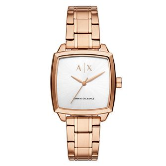 Armani Exchange Nicolette Ladies' Rose Gold Tone Watch - Product number 4172698
