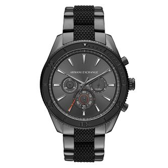 Armani Exchange Enzo Men's Stainless Steel Bracelet Watch - Product number 4172930