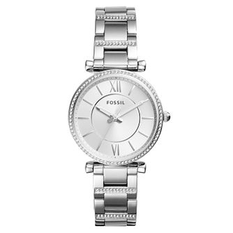 Fossil Carlie Ladies' Stainless Steel Bracelet Watch - Product number 4173503