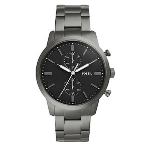 Fossil Men's Grey Stainless Steel Bracelet Watch - Product number 4177398