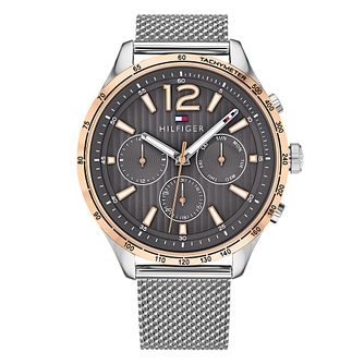 Tommy Hilfiger Gavin Men's Stainless Steel Mesh Strap Watch - Product number 4178173
