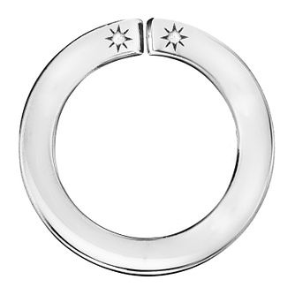 Lily & Lotty Silver Rhodium Plated Blank Ring Pendant - Product number 4178335