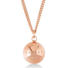 Radley London Rose Gold Plated Ball Logo Pendant - Product number 4179927