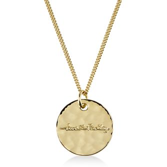 Radley London Yellow Gold Plated Love Disc Pendant - Product number 4180283