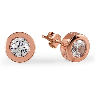 Radley London Rose Gold Plated Cubic Zirconia Stud Earrings - Product number 4180399