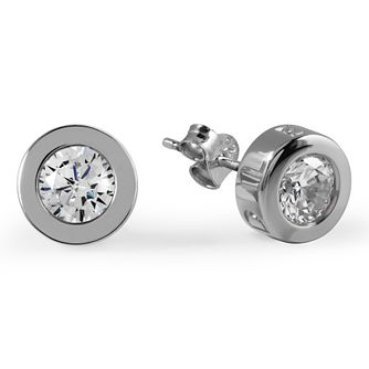 Radley London Sterling Silver Cubic Zirconia Stud Earrings - Product number 4180402