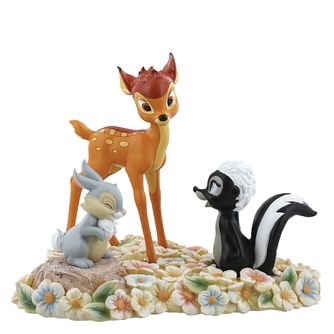 Disney Enchanting Bambi Pretty Flower Figurine - Product number 4180879