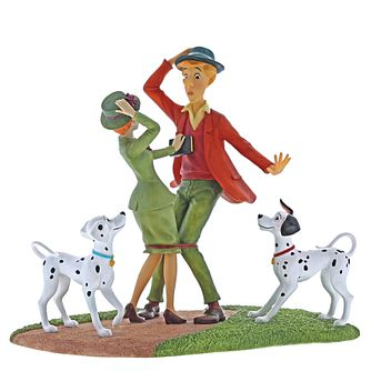 "Disney Enchanting ""Just Had To Meet"" 101 Dalmatians Figurine - Product number 4180909"