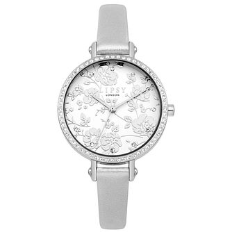 Lipsy Ladies' Silver Strap Watch - Product number 4181271