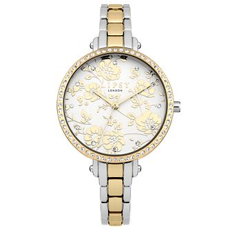 Lipsy Ladies' Silver & Rose Gold Bracelet Watch - Product number 4181298