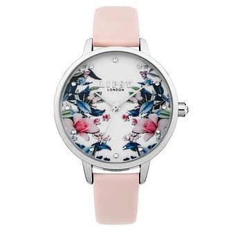 Lipsy Ladies' Pink Strap Watch - Product number 4181336