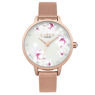 Lipsy Ladies' Rose Gold Bracelet Watch - Product number 4181352
