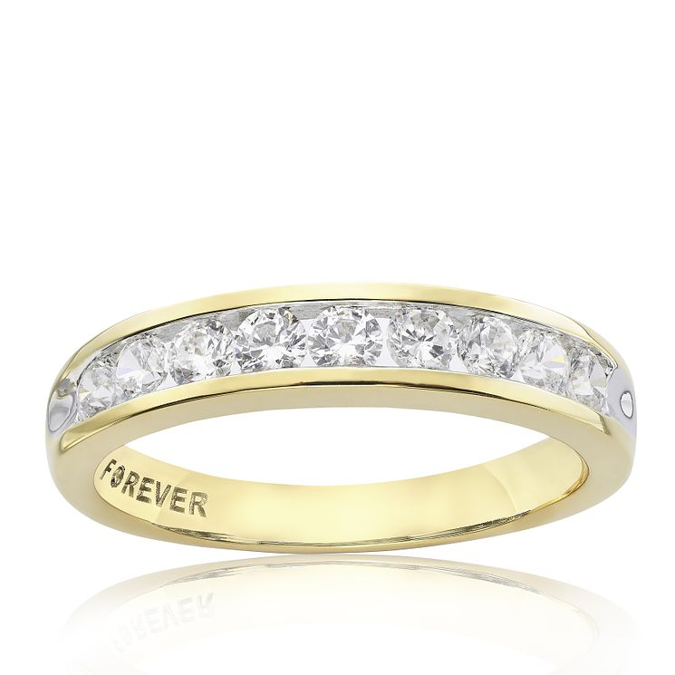 18ct Gold 1/2 Carat Forever Diamond Ring - Product number 4195299