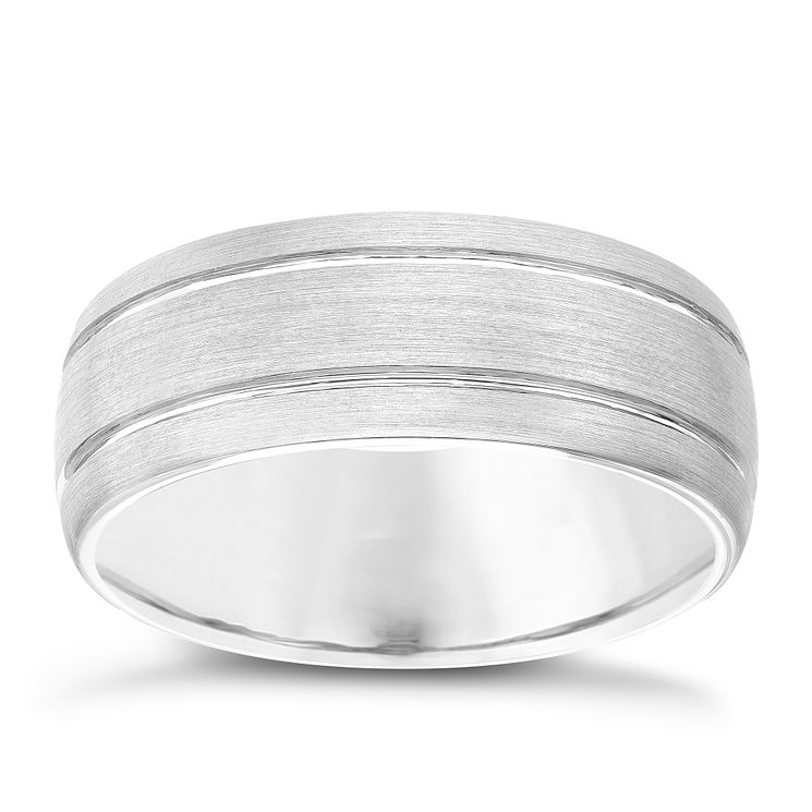 Men's Tungsten 8MM Ring - Product number 4222687