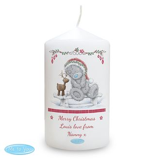 Personalised Me To You Christmas Reindeer Candle - Product number 4229975