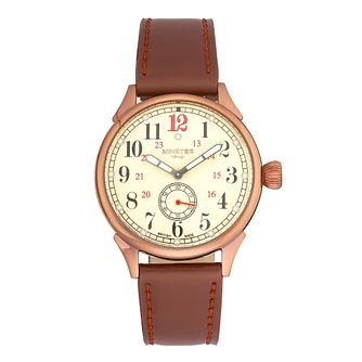 Minster Boyland Men's Rose Gold-plated Strap Watch - Product number 4230779