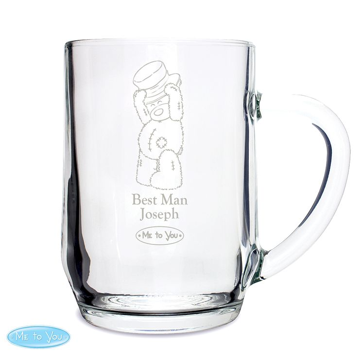 Engraved Me To You Top Hat Wedding Tankard - Product number 4232348